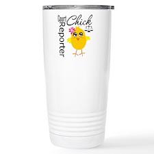 Court Reporter Chick Travel Mug