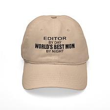 World's Best Mom - Editor Baseball Cap