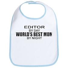 World's Best Mom - Editor Bib