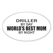 World's Best Mom - Driller Decal