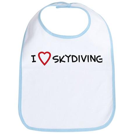 I Love Skydiving Bib