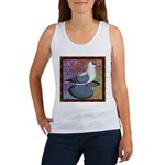 Swallow Pigeon Framed Women's Tank Top