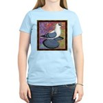 Swallow Pigeon Framed Women's Light T-Shirt