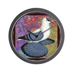 Swallow Pigeon Framed Wall Clock