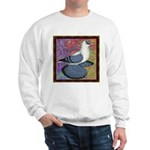 Swallow Pigeon Framed Sweatshirt