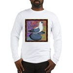 Swallow Pigeon Framed Long Sleeve T-Shirt