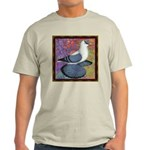 Swallow Pigeon Framed Light T-Shirt