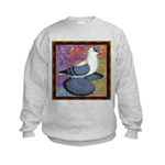 Swallow Pigeon Framed Kids Sweatshirt