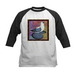 Swallow Pigeon Framed Kids Baseball Jersey