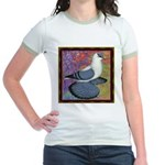 Swallow Pigeon Framed Jr. Ringer T-Shirt