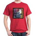 Swallow Pigeon Framed Dark T-Shirt