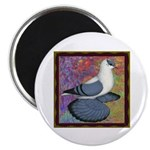 "Swallow Pigeon Framed 2.25"" Magnet (100 pack)"