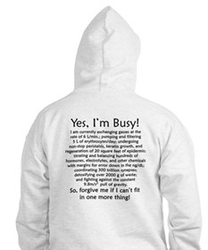 Yes, I'm Busy! Hoodie