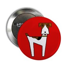 """graphic terrier (red) 2.25"""" Button"""
