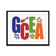 GCEA Framed Panel Print