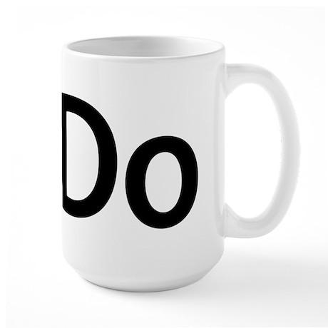 iDo Large Mug