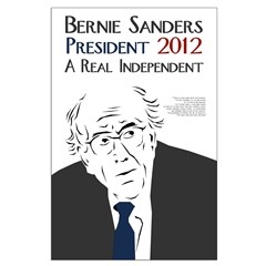 Bernie Sanders for President 2012 campaign poster