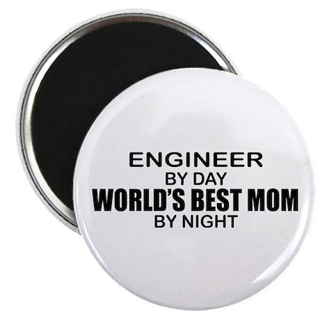 World's Best Mom - ENGINEER Magnet