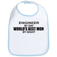 World's Best Mom - ENGINEER Bib