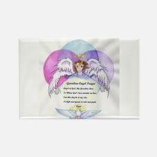 Guardian Angel Prayer Rectangle Magnet