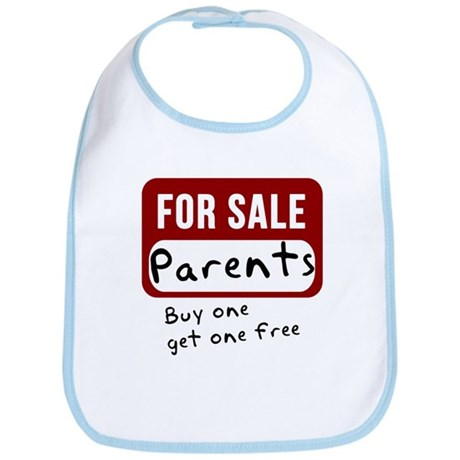 Parents For Sale Bib