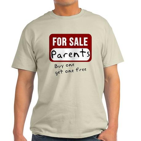 Parents For Sale Light T-Shirt