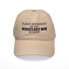 World's Best Mom - FLIGHT ATTENDANT Baseball Cap