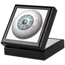 Unique Eyeball Keepsake Box