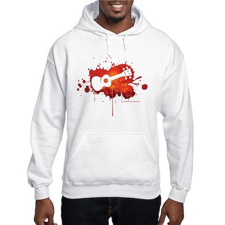 Ukulele Splash Hooded Sweatshirt