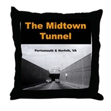 """Midtown Tunnel"" Throw Pillow"