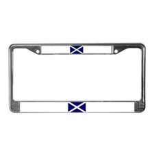 Flag of Scotland License Plate Frame