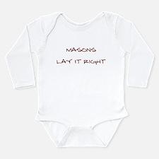 Masons... Long Sleeve Infant Bodysuit