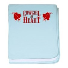 Cowgirl at Heart baby blanket