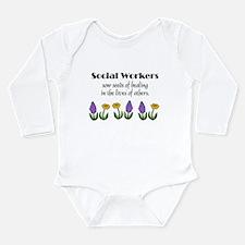Seeds of Healing Long Sleeve Infant Bodysuit