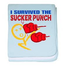 Sucker Punch Survivor baby blanket