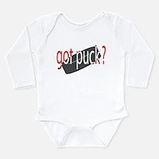 Unique Got ice hockey Long Sleeve Infant Bodysuit
