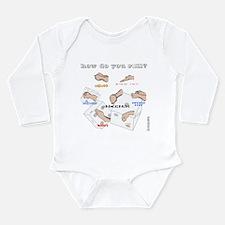 How do you roll? Long Sleeve Infant Bodysuit