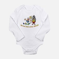 Great Merciful Crap Long Sleeve Infant Bodysuit