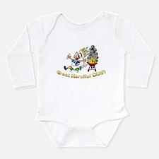 Great Merciful Crap Long Sleeve Infant Bodysuit