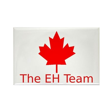 The EH Team Rectangle Magnet