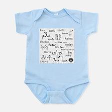 Peace Everywhere! Infant Bodysuit