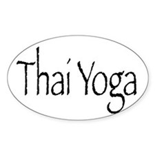 Thai Yoga Style2 Decal