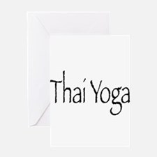 Thai Yoga Style2 Greeting Card