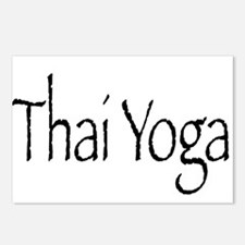 Thai Yoga Style2 Postcards (Package of 8)