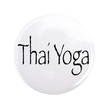 """Thai Yoga Style2 3.5"""" Button"""