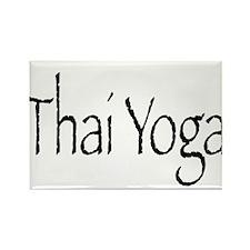 Thai Yoga Style2 Rectangle Magnet
