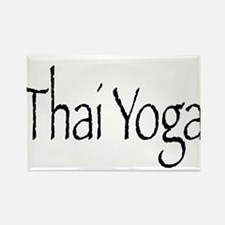 Thai Yoga Style2 Rectangle Magnet