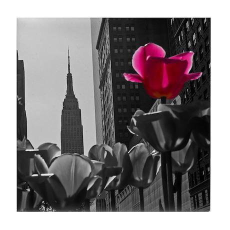 NY Tulips Tile Coaster