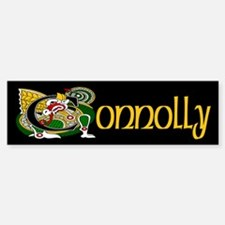Connolly Celtic Dragon Bumper Bumper Sticker