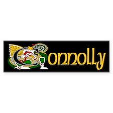 Connolly Celtic Dragon Bumper Sticker